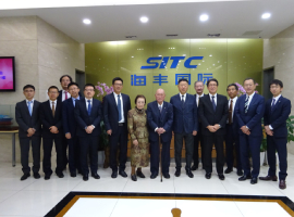 Port&Harbor Bureau of Kawasaki City Delegation Visited SITC International
