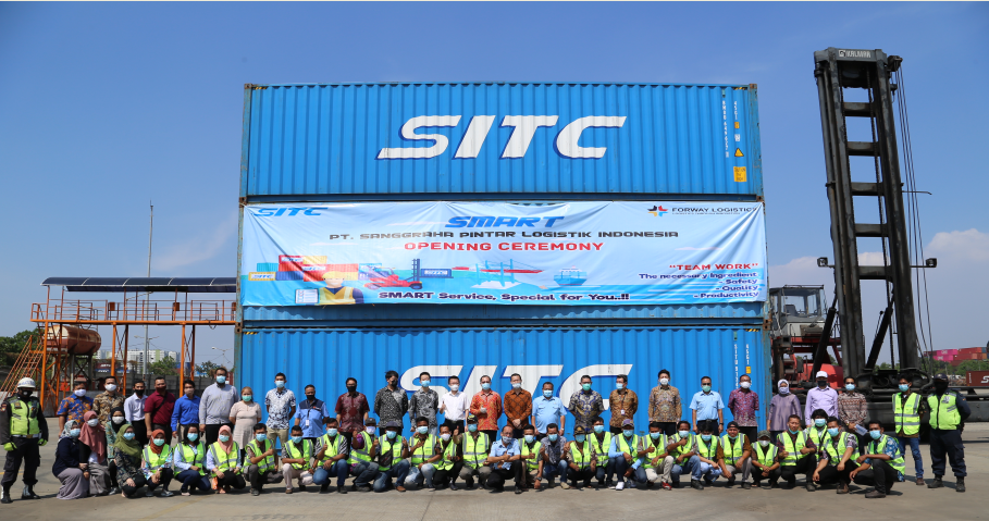 SITC Logistics Indonesia Jakarta Depot was established